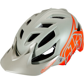 Troy Lee Designs A1 MIPS Classic Helm orange/grey
